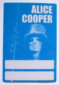 Alice Cooper '1997 Rock 'n' Roll Carnival Tour' OTTO Backstage Pass
